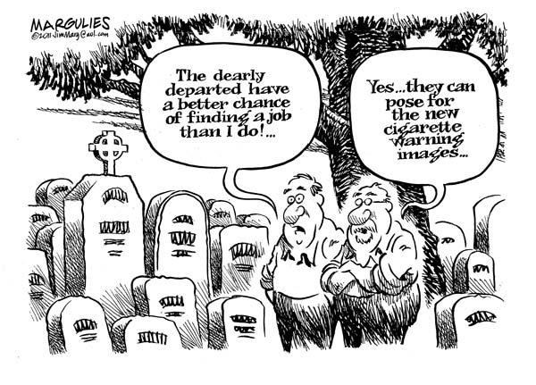 Мертвые восстанут и сфотографируются для сигарет