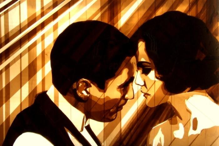 Скотч-арт, похожий на кино: необычные картины Макса Зорна