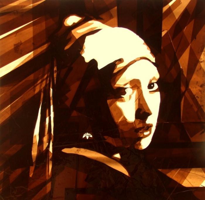 *Девушка с жемчужной сережкой* в интерпретации Макса Зорна