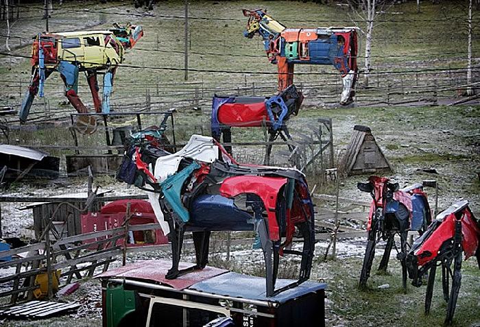 Металлическое стадо коров: все в сборе