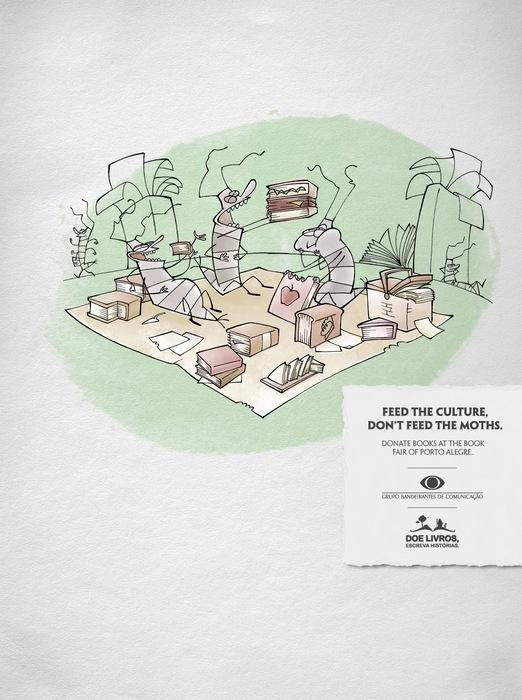 Пикник на обочине: реклама ярмарки в Порту-Алегри