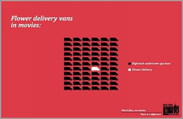 Фургон для доставки цветов в киношке - это: а) сверхсовременная шпионская база, б) фургон для доставки цветов