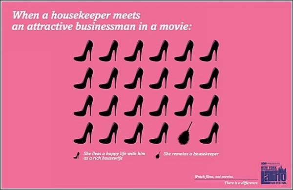 Когда домохозяйка встречает привлекательного бизнесмена, то: а) становится богатой домохозяйкой и живет долго и счастливо, б) остается домохозяйкой