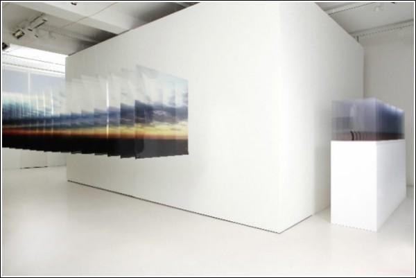 Фотопейзажи Нобухиро Наканиши для гигантского диапроектора