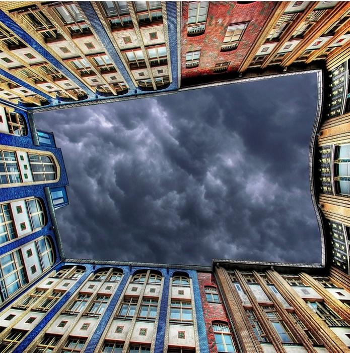 Дворы-колодцы: городские фотографии Nespyxel'a