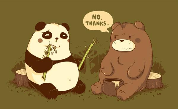 Юмористические рисунки Майкла Биспарулца: *Нет, спасибо*