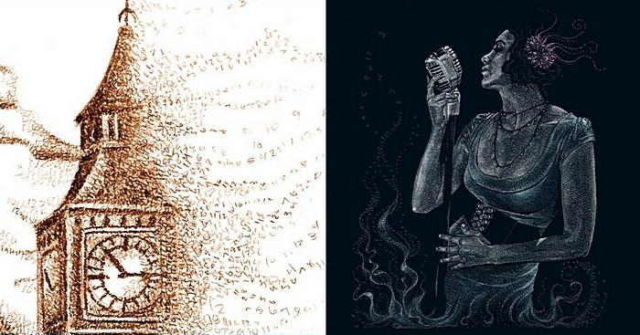 Рисунки из чисел: философские картины Сиенны Моррис
