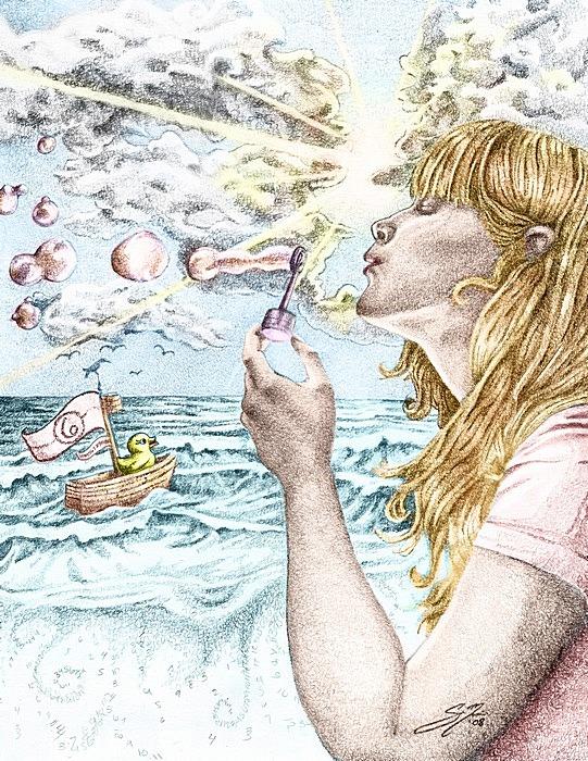 Мыльные пузыри как символ скоротечности жизни: творчество Сиенны Моррис