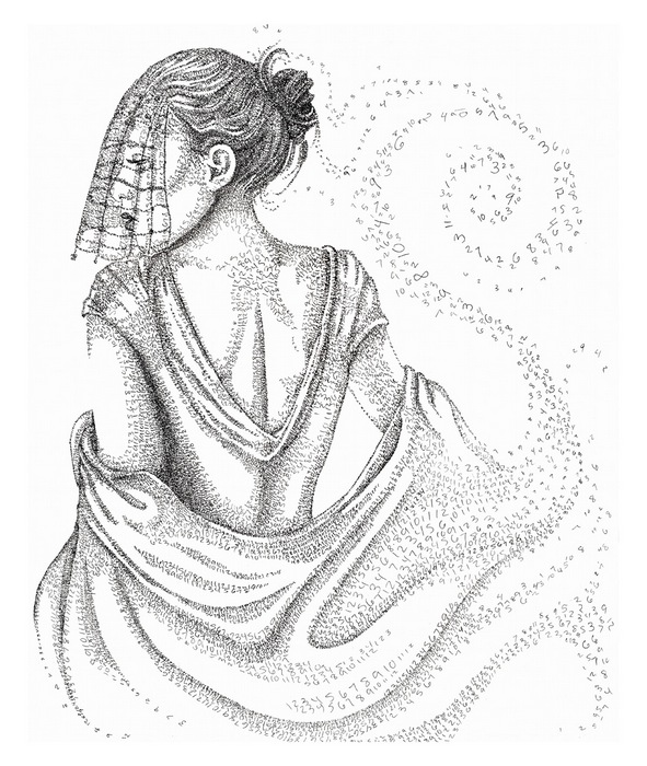 Дама из чисел: философские картины Сиенны Моррис