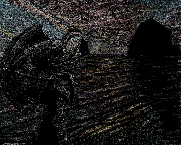 Ветер перемен: философские картины Сиенны Моррис