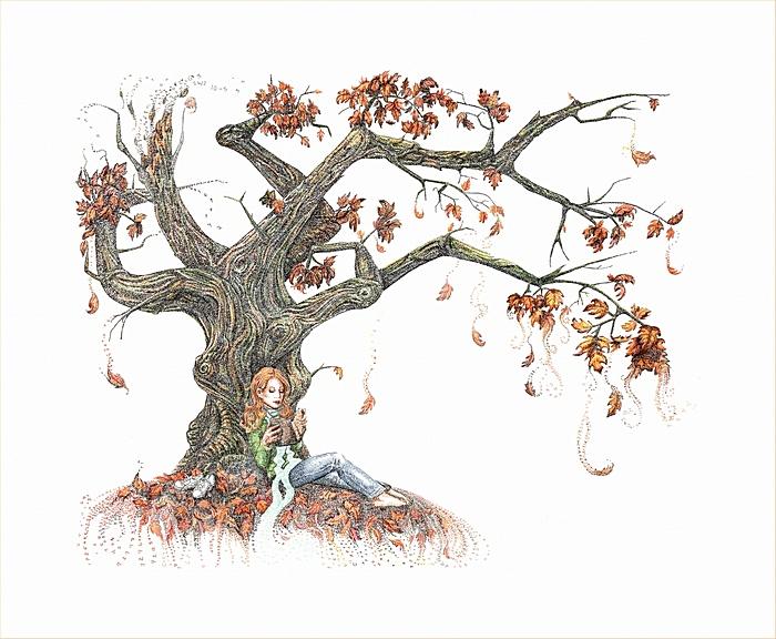 Числовая осень: философские картины Сиенны Моррис