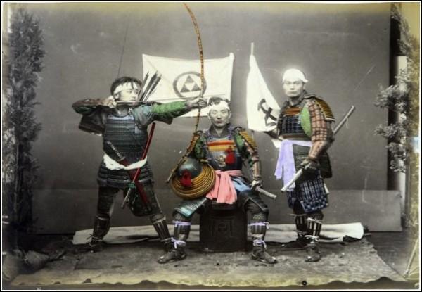 Грозная и воинственная Япония: фотографии студии Адольфо Фарсари