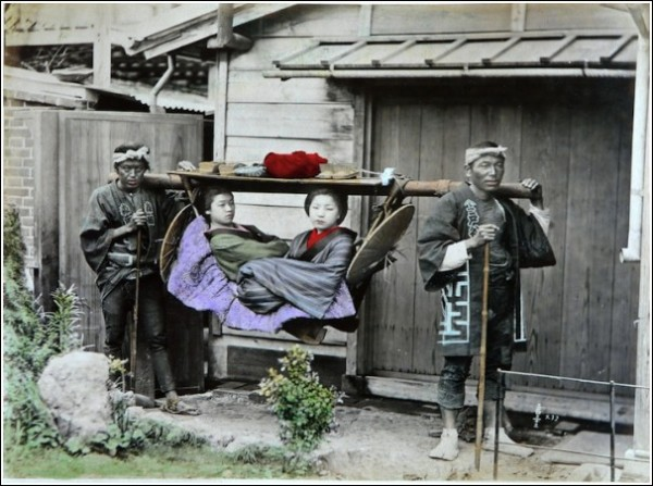 Старая добрая Япония: фотографии студии Адольфо Фарсари