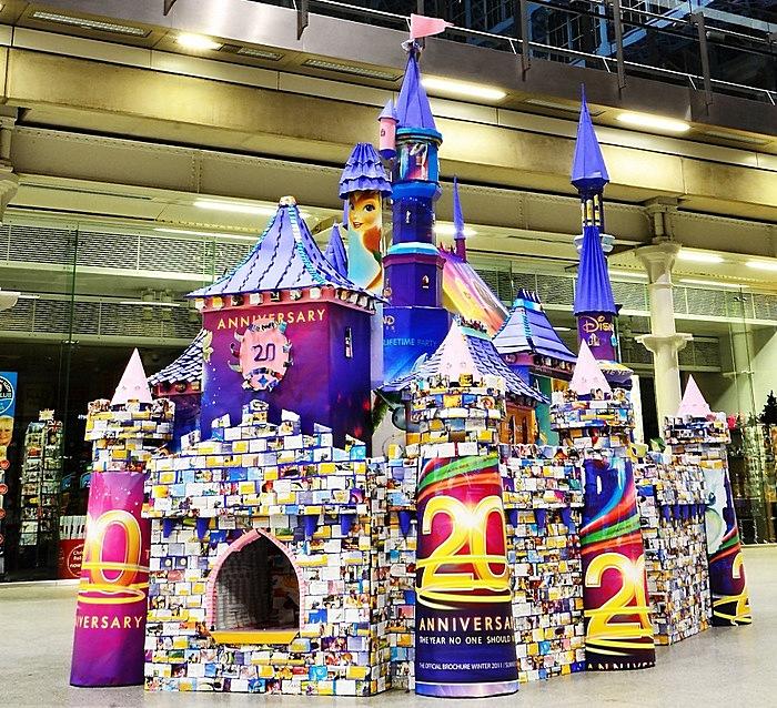 Оригами для Спящей Красавицы: волшебный замок, сложенный из бумаги