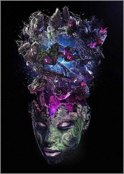 Взрыв мозга: цифровая живопись Ника Эйнли