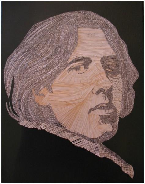 Портрет Оскара Уайльда из «Портрета Дориана Грея»