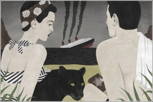 Картинки в стиле ретро: любовная лодка разбилась о быт