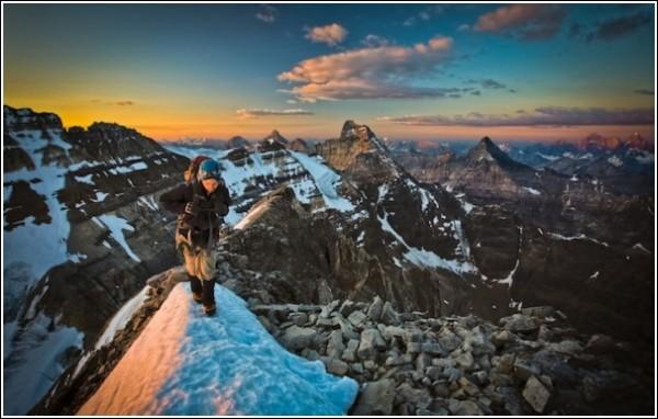 Фотографии гор Пола Жижки - человека с ледорубом