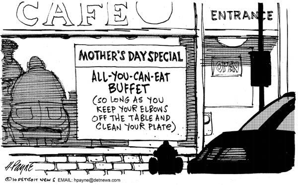 «Мамино меню»: главное - уберите локти со стола и опустошайте тарелку