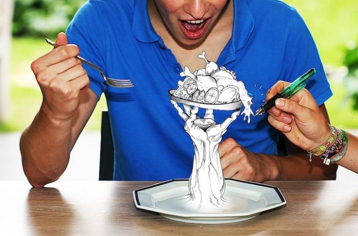 Кушать подано: серия работ «Penpho»
