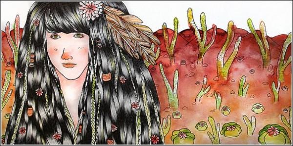 *Кактус*: яркие рисунки Сабрины Скотт