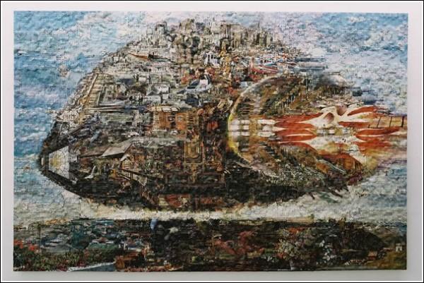 Коллаж как принцип мировидения: картины из пазлов Герхарда Майера