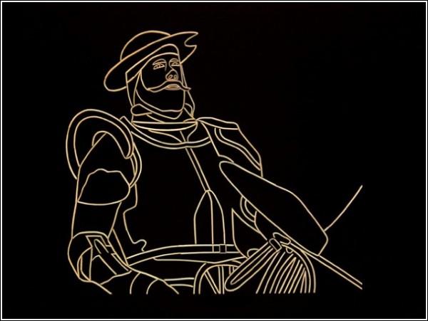 Картины Стивена Бекмена: Дон Кихот