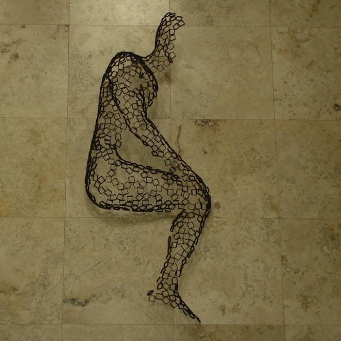 Человек сидящий: необычные скульптуры Райнера Лагеманна