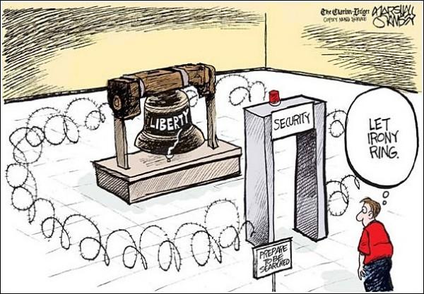 «Пусть железка звенит»: карикатуры на тему Дня независимости США