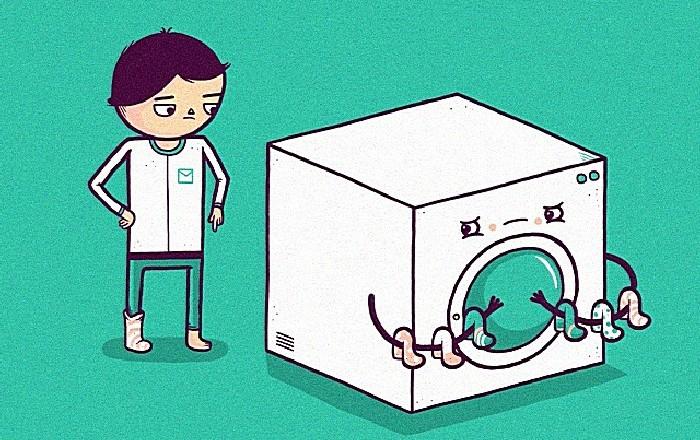 Коварная машинка: веселые рисунки Аарона Джея