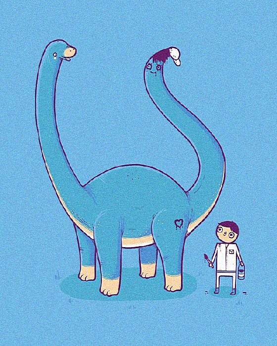 Галатея: веселые рисунки Аарона Джея