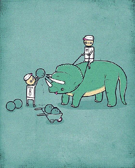 Как делать шары для боулинга: веселые рисунки Аарона Джея