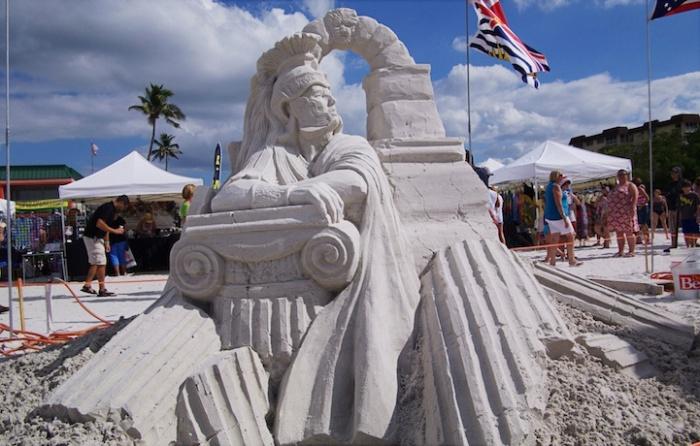 Песочные страсти: фестиваль скульптуры во Флориде