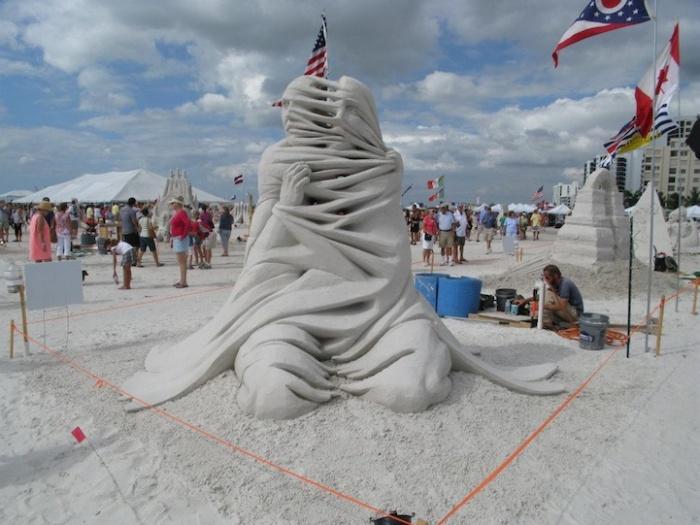 Фестиваль скульптуры во Флориде: 3-е место в одиночном разряде