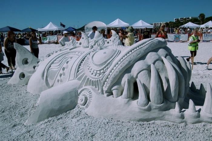 Фестиваль скульптуры во Флориде: 2-е место в парном разряде