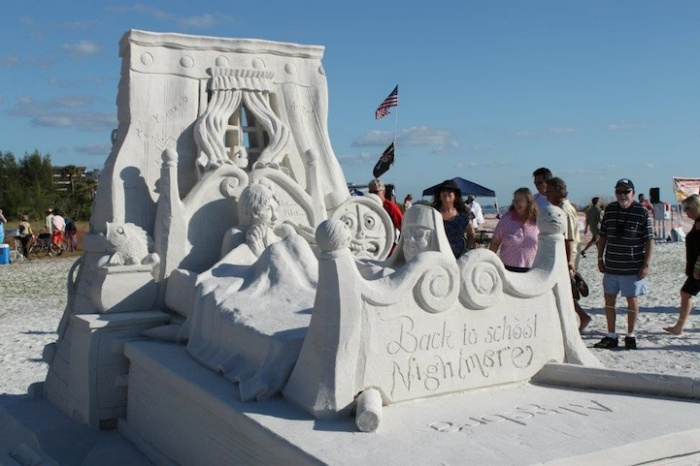 Фестиваль скульптуры во Флориде: 3-е место в парном разряде