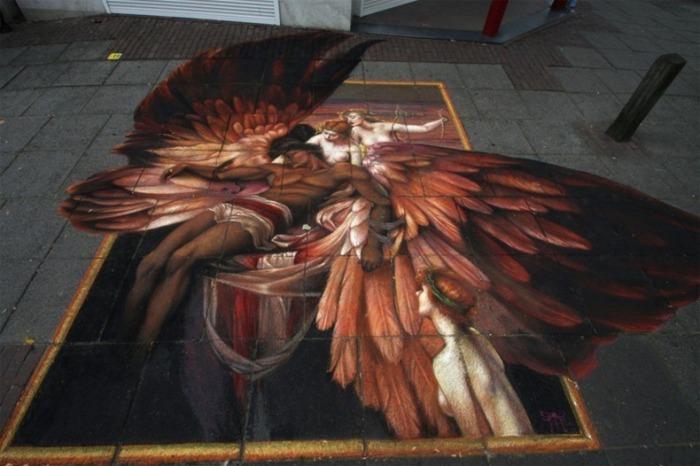 Демон: фестиваль арта на асфальте