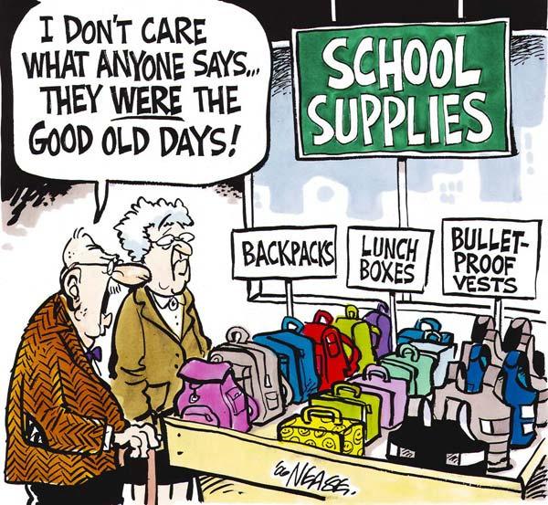 Сборы в школу: *Говорите что хотите, но в старые добрые времена...*