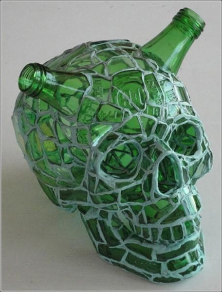 Искусство мозаики Андреса Басурто: Шрэк?