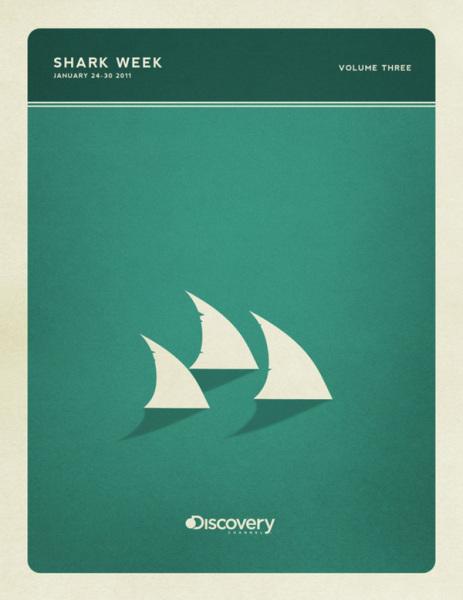 Плавники: минималистичные постеры Кристофера Уилсона