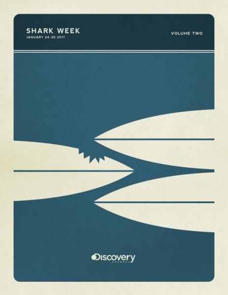 «Неделя акул»: минималистичные постеры Кристофера Уилсона