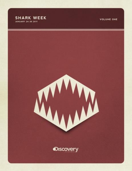 Челюсти: минималистичные постеры Кристофера Уилсона