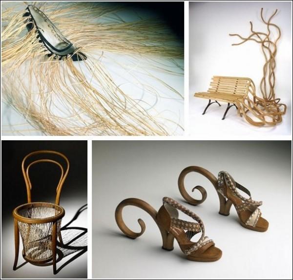 Оригинальная обувь и необычная мебель: есть ли у них что-то общее?