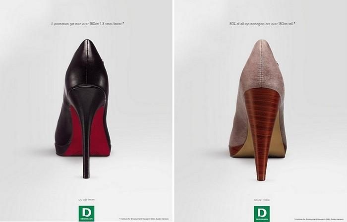 О пользе каблуков: оригинальная реклама с научным уклоном