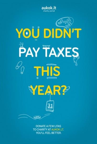 Отпущение грехов: «В этом году вы не платили налоги?»