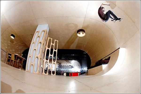 Мой дом - моя скейт-площадка: жилище для настоящих скейтбордистов
