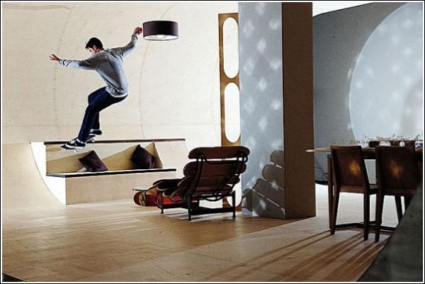 Мой дом - моя скейт-площадка: всегда в движении