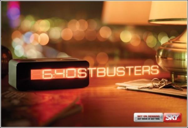 Креативная реклама телеканала: «Охотники за привидениями»