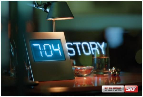 Креативная реклама телеканала: «История игрушек»