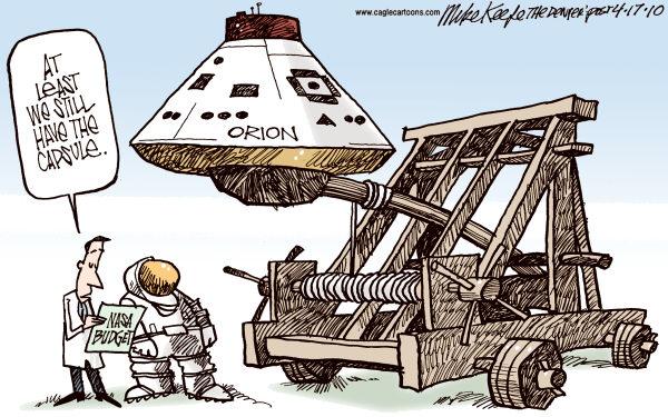 Карикатуристы о финансировании космических программ: астропульта